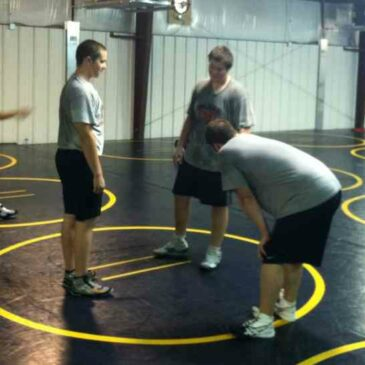 Blackman Wrestlers get Back to Work