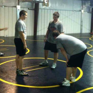 Blackman Wrestlers get Back to Work