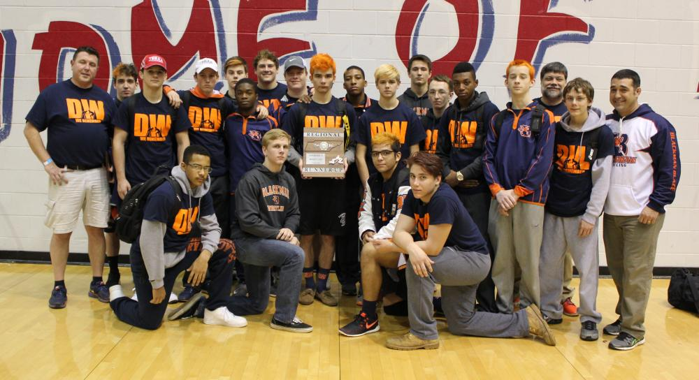 Blackman Wrestling - 2016 Region 5-AAA Tournament