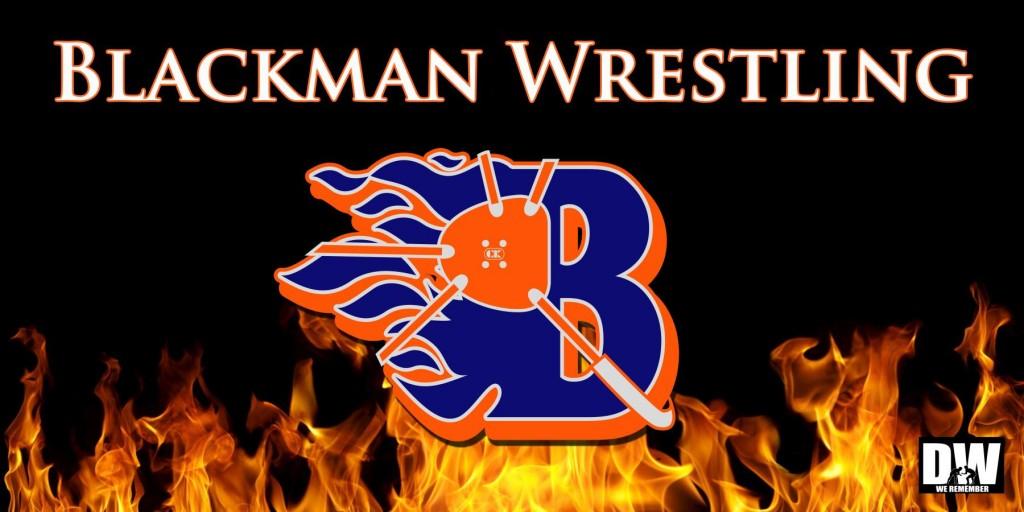 Blackman Wrestling Banner