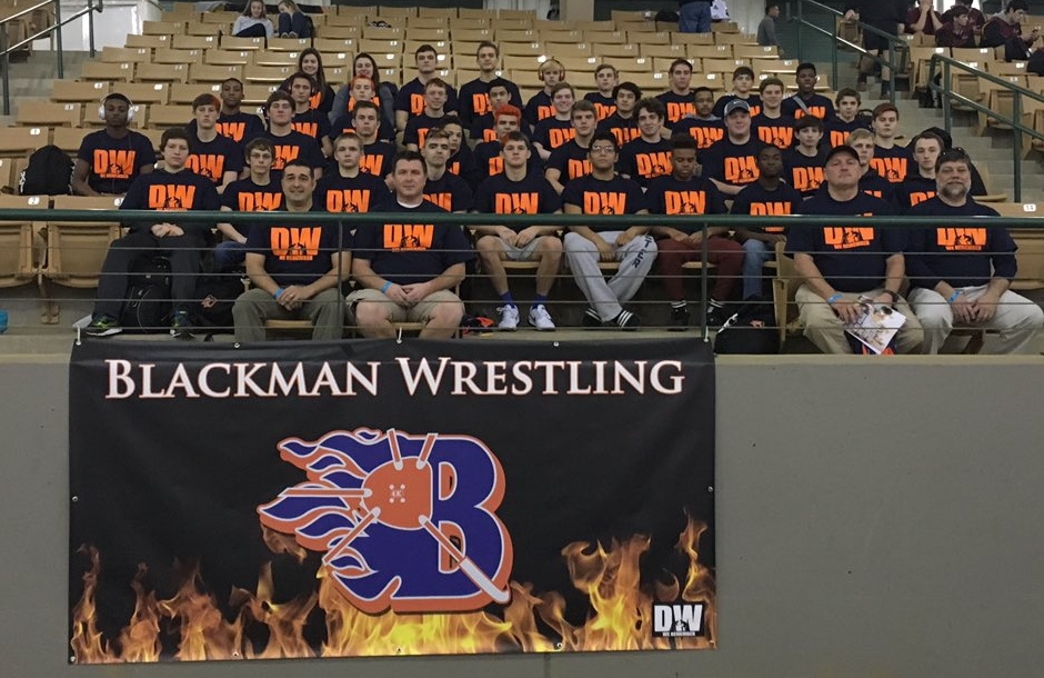 Blackman pays tribute to Daniel Winters at State Duals