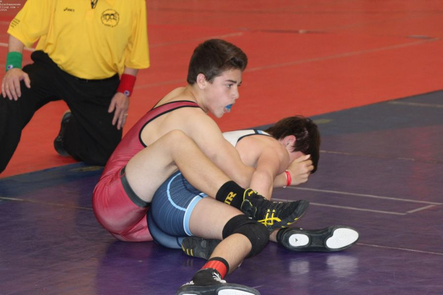 Brooks Sacharczyk wrestles at NHSCA VA Beach Nationals