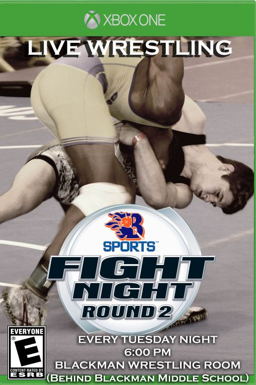 Blackman Wrestling Fight Night