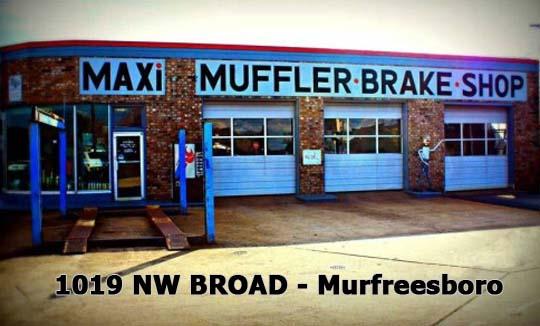 Maxi Muffler Murfreesboro