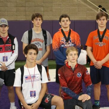 BLAZE WRESTLERS TURN UP IN IOWA