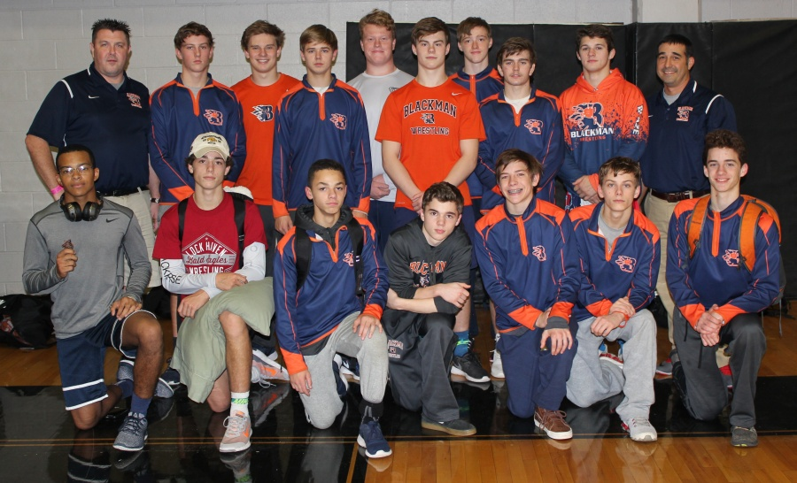 Blackman Wrestling at Stewary Schay Blackhorse Invitational