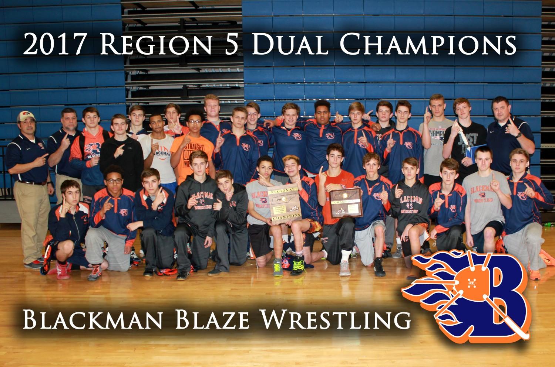 2017 Region 5 Dual Champions - Blackman Blaze