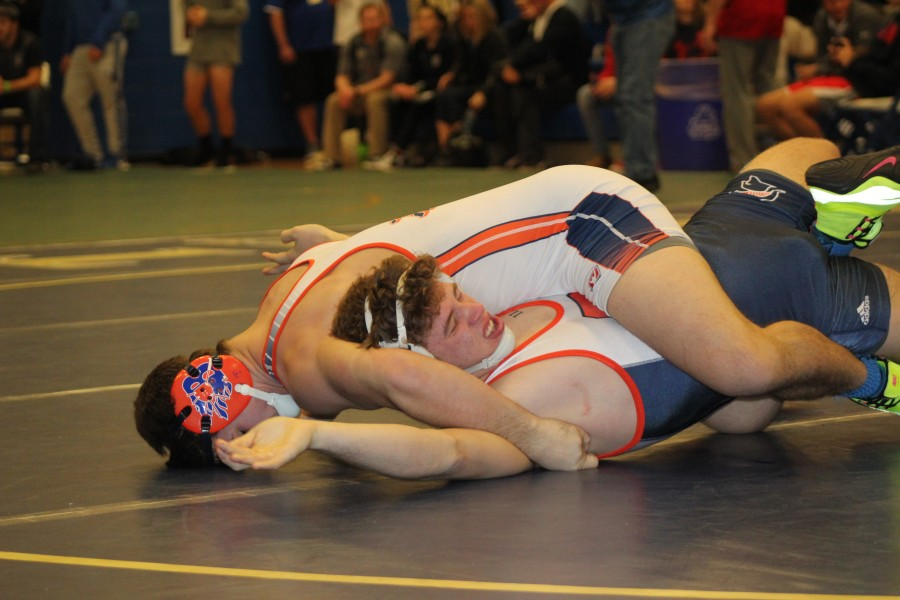 Matthew Sells Pins Summit Wrestler in the Finals