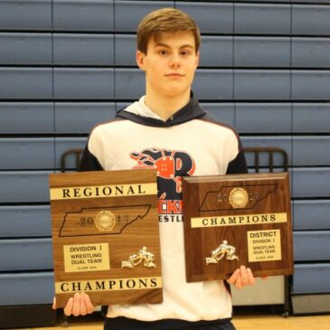 Blackman Wins Region 5 Dual Championship