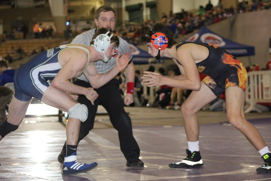 Brooks Sacharcyzk Wrestles Top-Ranked Brady Ingram
