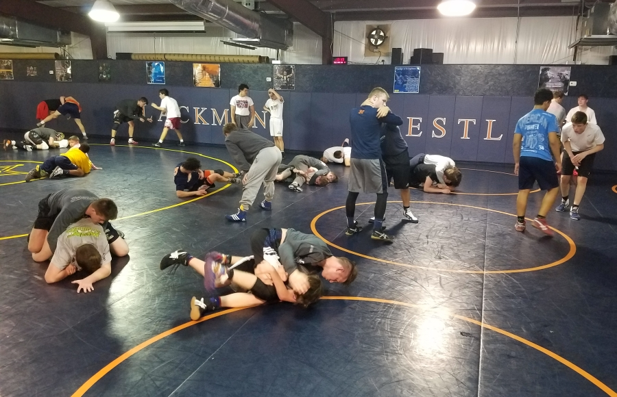 FIGHT NIGHTS every Tuesday at Blackman Wrestling Building
