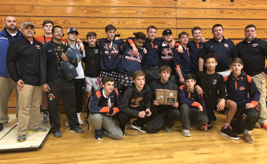 Blackman Wrestling at the Stuart Shay Black Horse Invitational