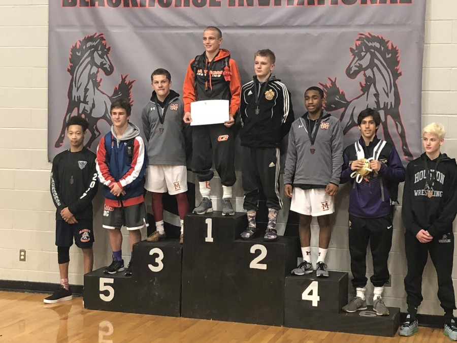 Jeremiah Savage on the Medal Stand