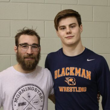 Olympic Wrestler Dan Dennis at Blackman