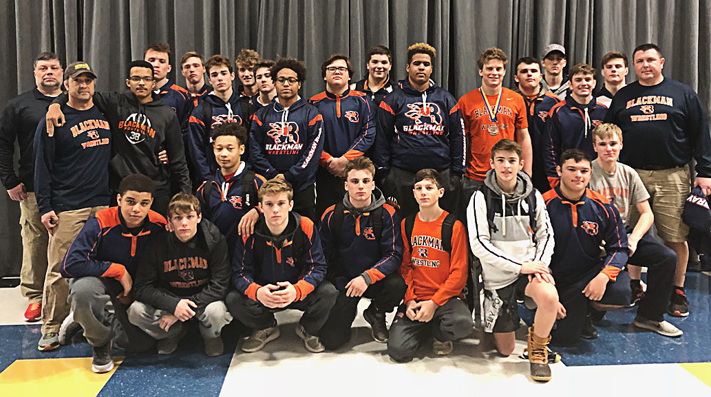 Blackman Wrestling at Bussey-Dickeson Memorial Tournament 2018