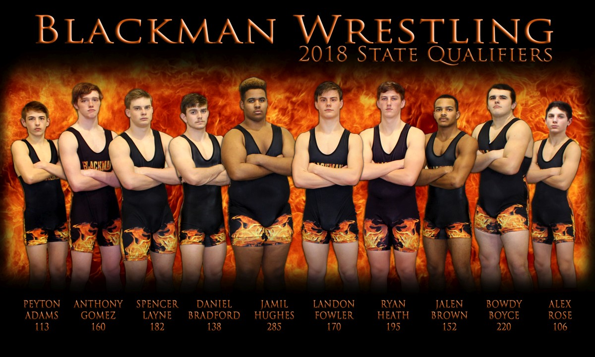 Blackman's 2018 State Qualifiers