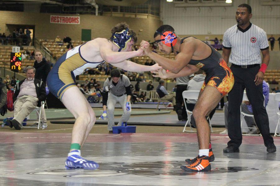 Jalen Brown Defeats Arlington's Harrison Phillips