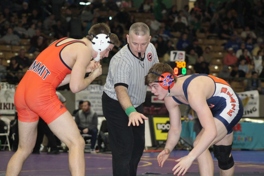 Landon Fowler vs Sawyer Knott from Summitt