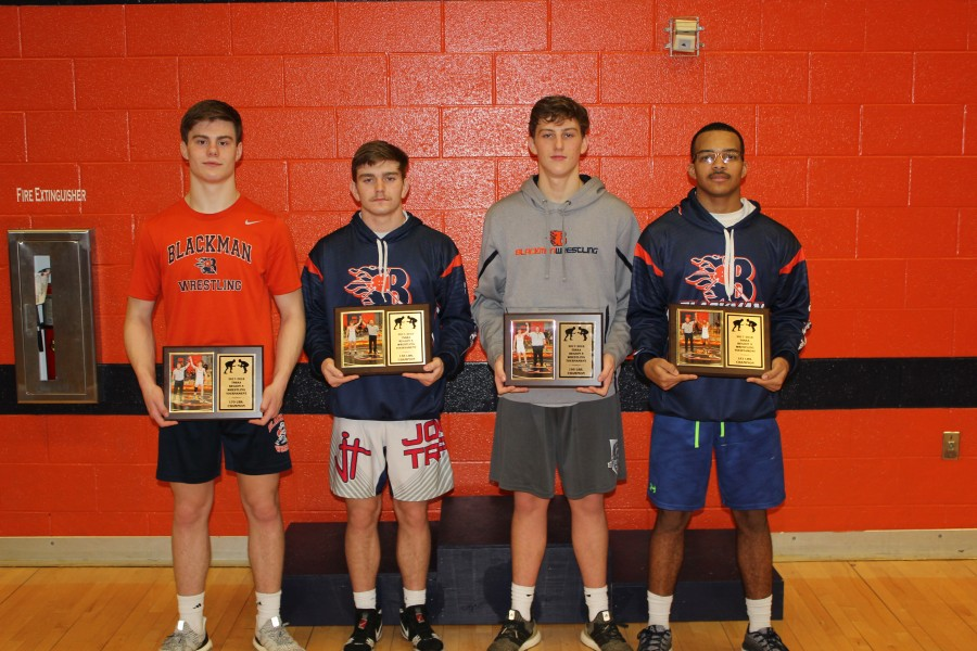 2018 Region Champions from Blackman (Fowler, Bradford, Heath, Brown)