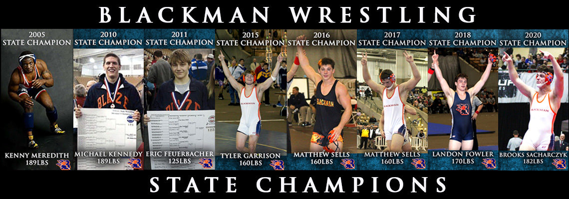 Blackman Wrestling - Tennessee State Champions